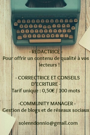 Rédactrice, Correctrice, Community Manager