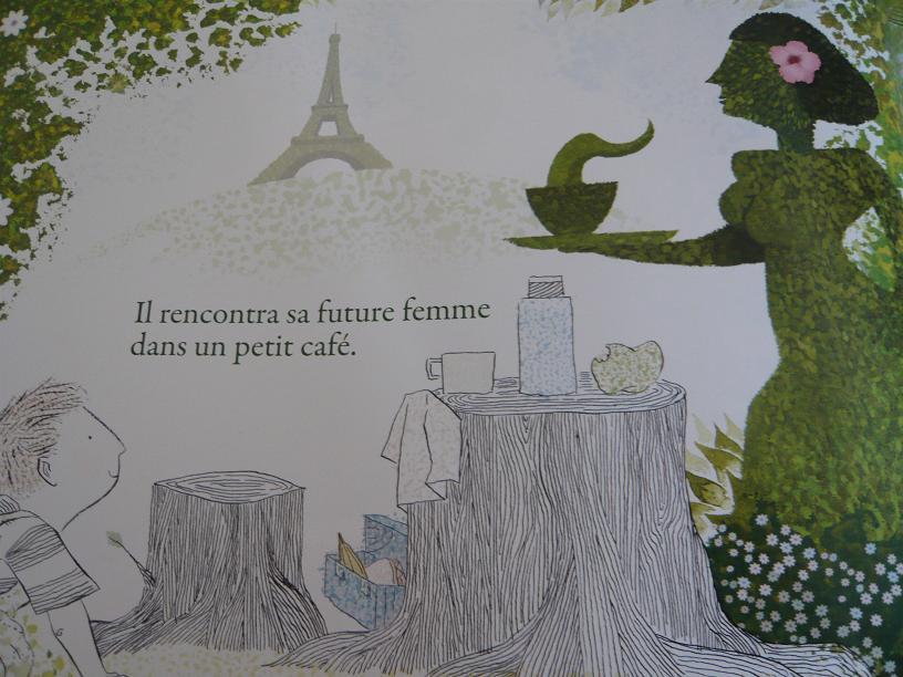 l'histoire en vert de mon grand pere