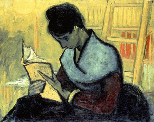 La lectrice de roman Van Gogh