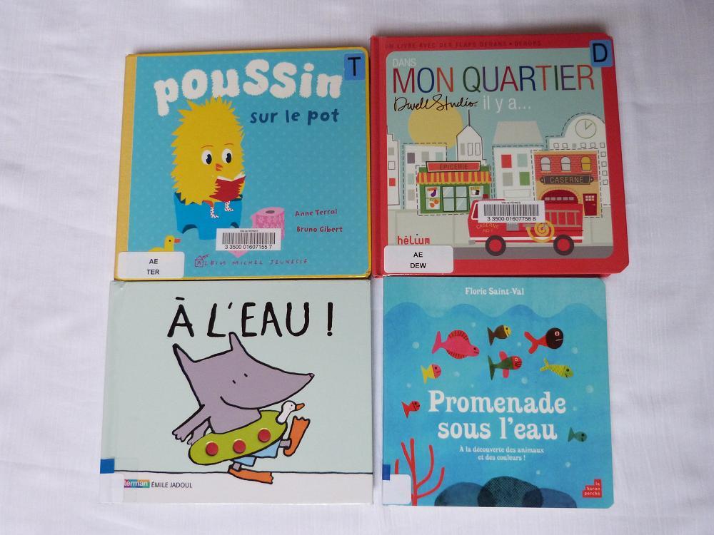 acquisitions octobre 2012 – livres bb