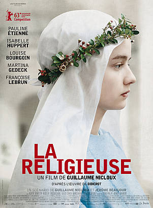 La religieuse affiche
