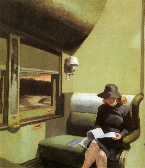 Edward Hopper - Compartiment C, voiture 193, 1938